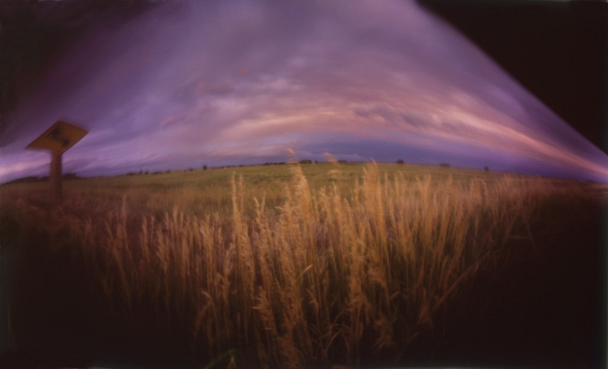 DAVID SHARPE, EASTERN PHENOMENA 26 pinhole photograph pigment print
