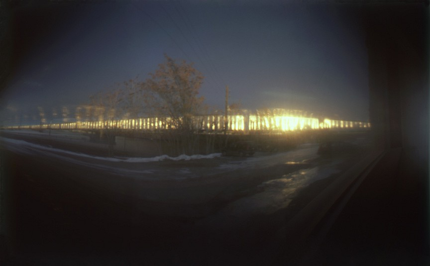DAVID SHARPE, EASTERN PHENOMENA 25 pinhole photograph pigment print