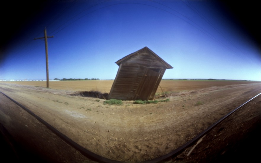DAVID SHARPE, EASTERN PHENOMENA 24 pinhole photograph pigment print