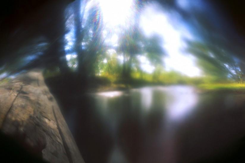 DAVID SHARPE, WATERTHREAD 24 color pinhole photograph