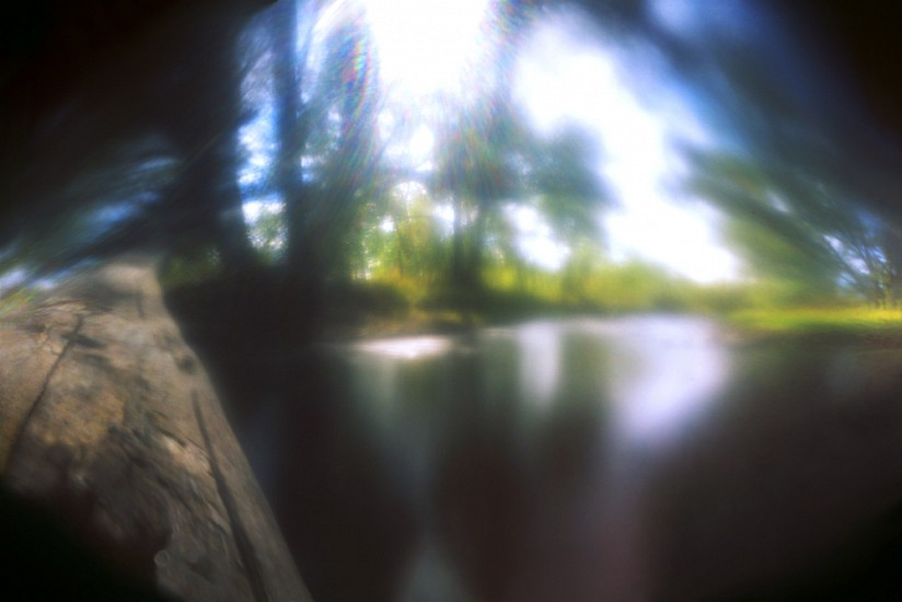 DAVID SHARPE, WATERTHREAD 24 color pinhole photograph