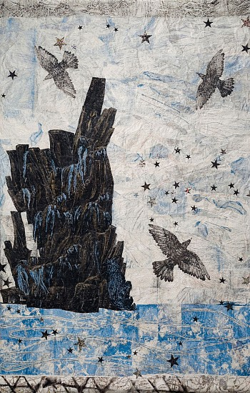 KIKI SMITH, HARBOR  5/10 cotton Jacquard tapestry