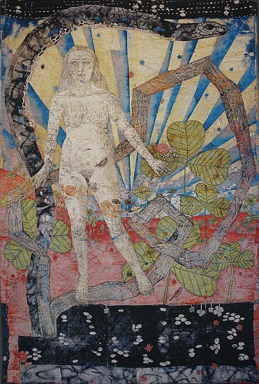 KIKI SMITH, EARTH 2/10 cotton Jacquard tapestry