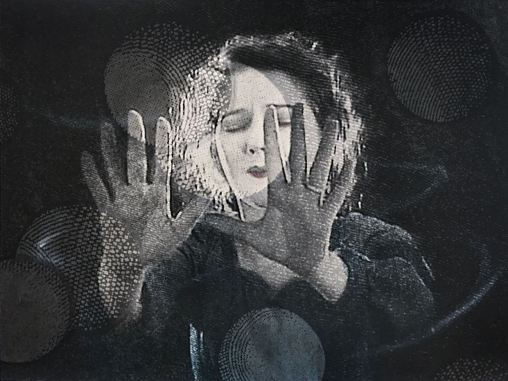 STACEY STEERS, EDGE OF ALCHEMY Ed. 10 (WOMAN, OUTSTRETCHED HANDS) archival pigment print
