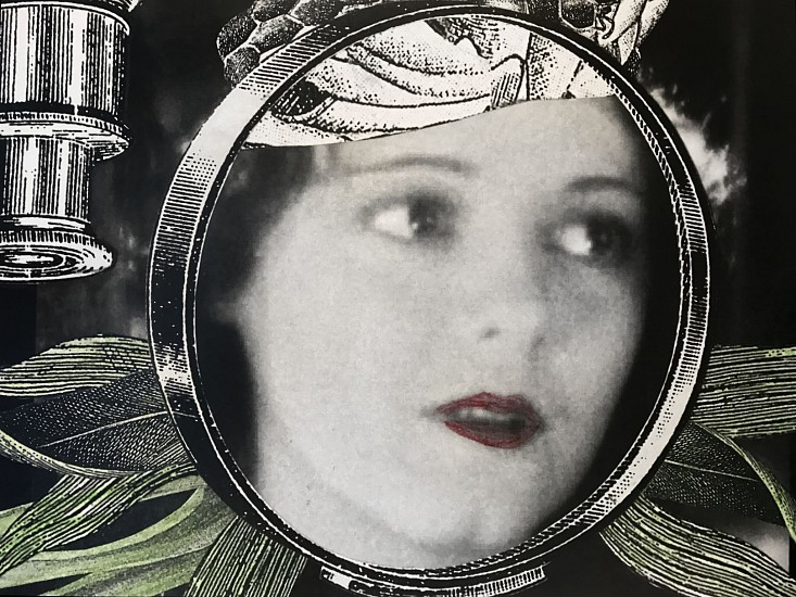 STACEY STEERS, EDGE OF ALCHEMY Ed. 10 (WOMAN, FACE IN LENS) archival pigment print