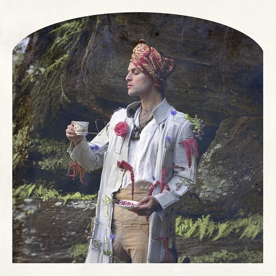 KAHN + SELESNICK, LORD BYRON, LOVE-LIES-BLEEDING, TEA Ed. 5 pigment print