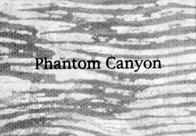 STACEY STEERS, PHANTOM CANYON (film)