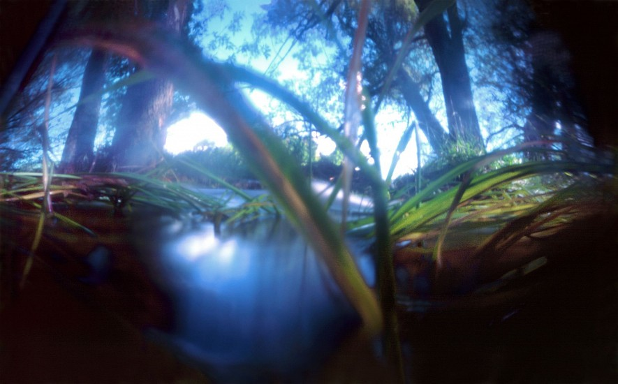 DAVID SHARPE, WATERTHREAD 108 color pinhole photograph