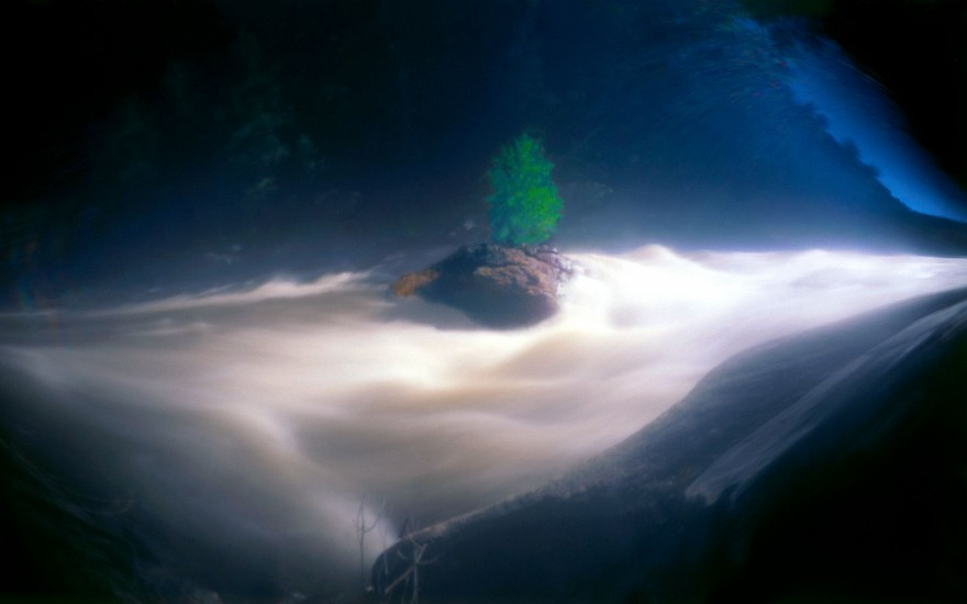 DAVID SHARPE, WATERTHREAD 111 color pinhole photograph