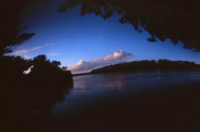 DAVID SHARPE, WATERTHREAD 78 color pinhole photograph