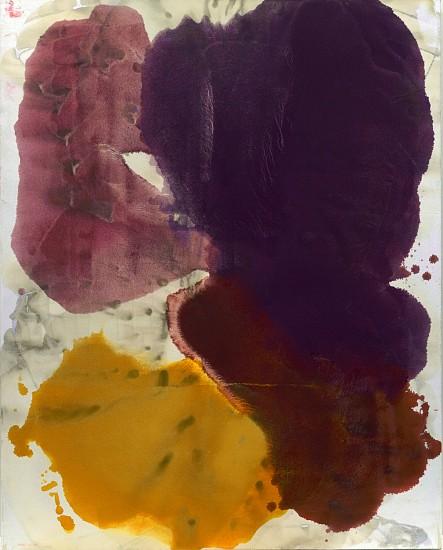 DIRK DE BRUYCKER, MUNECA, ECLIPSED asphalt, cobalt drier, gesso and oil on canvas