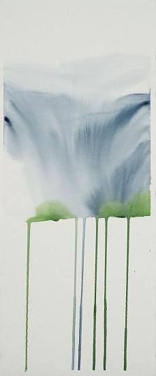 NIKKI LINDT, MELTING GLACIER 6 watercolor on paper