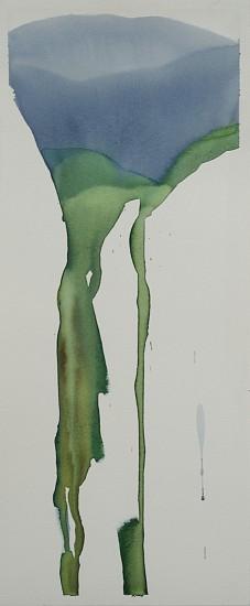 NIKKI LINDT, MELTING GLACIER 2 watercolor on paper