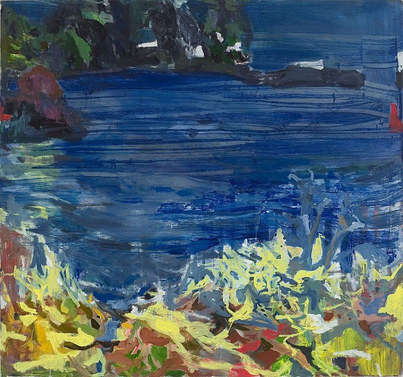ALLISON GILDERSLEEVE, IN THE OFFING oil and alkyd on canvas