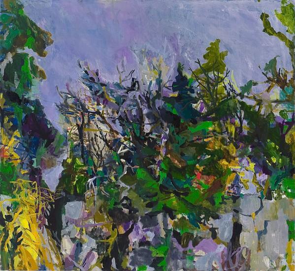 ALLISON GILDERSLEEVE, SQUALL oil on canvas