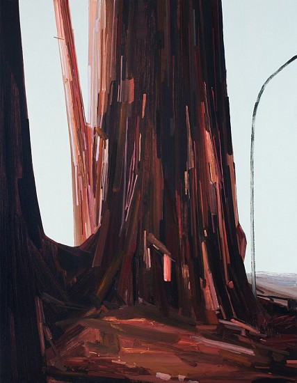 CLAIRE SHERMAN, TREE oil on canvas