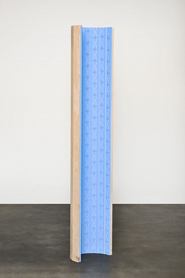 DERRICK VELASQUEZ, PRESERVATION OF MONUMENT: TALL FIELD foam trim molding,maple, acrylic