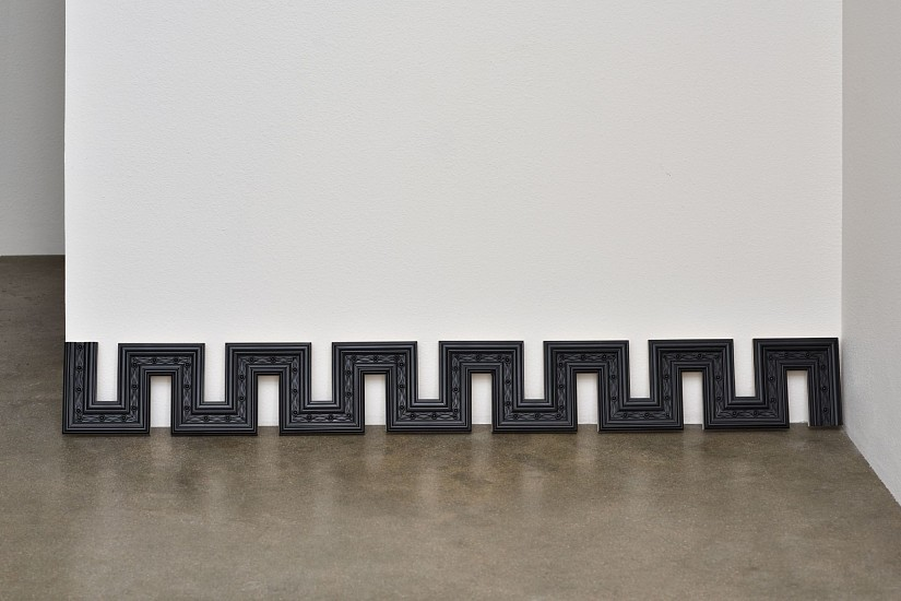 DERRICK VELASQUEZ, PRESERVATION OF MONUMENT: IMPERFECT FUTURE foam trim molding, baltic birch, acrylic