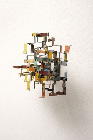TED LARSEN, NEUTRAL CHARGE salvage steel, hardware, chemicals, welded steel