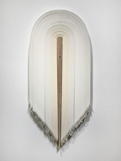 DERRICK VELASQUEZ, UNTITLED 135 vinyl and white ash