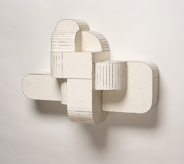TED LARSEN, MELTED ICE salvage steel, marine-grade plywood, silicone, vulcanized rubber and hardware