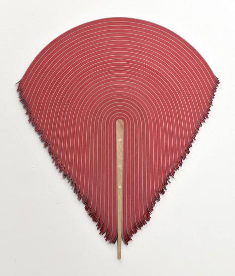 DERRICK VELASQUEZ, UNTITLED 143 vinyl and birch