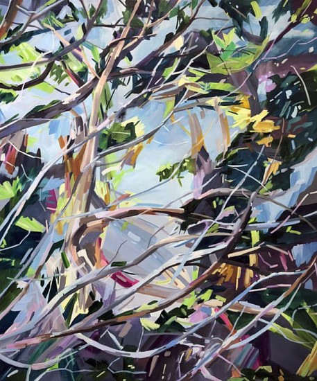 DIANE CARR, KNOT oil on canvas