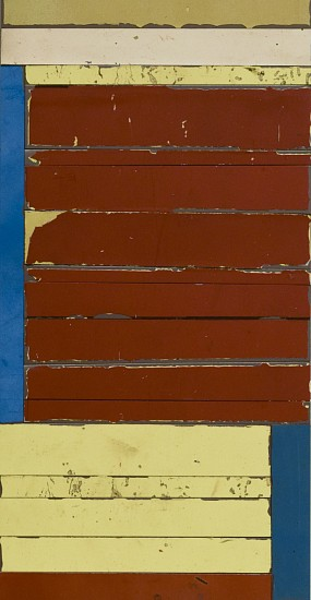 TED LARSEN, FOUNDING salvage steel. Arches Cover paper, adhesive