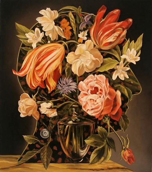 JERRY KUNKEL, PROFILE 6 (V.) oil on canvas