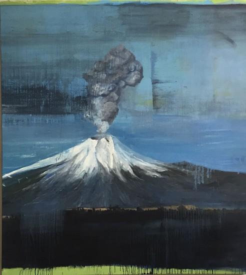 TOM JUDD, ON THE PERIMETER oil on canvas
