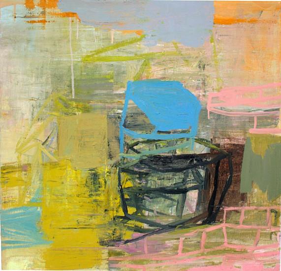 DEBORAH DANCY, STORMY WEATHER oil on canvas