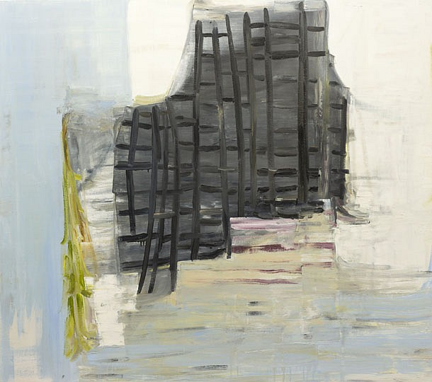 DEBORAH DANCY, PATCHWORK oil on canvas
