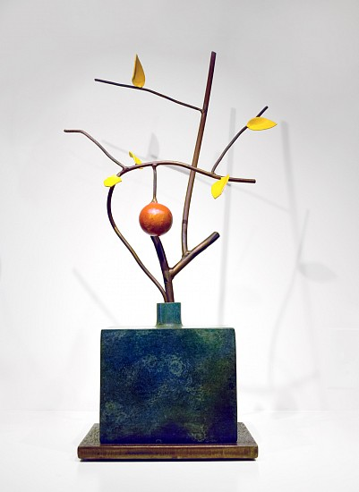 DAVID KIMBALL ANDERSON, LATE FALL painted steel and bronze