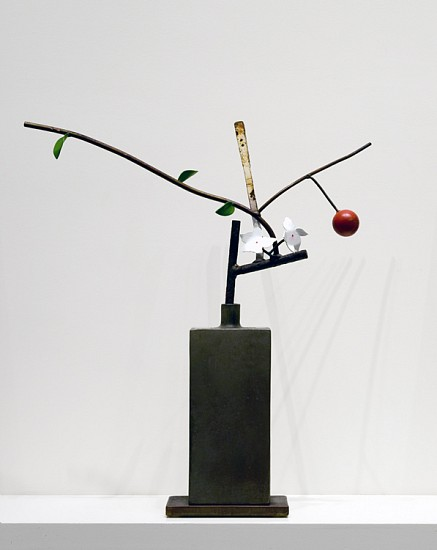 DAVID KIMBALL ANDERSON, EARLY APPLE painted steel and bronze