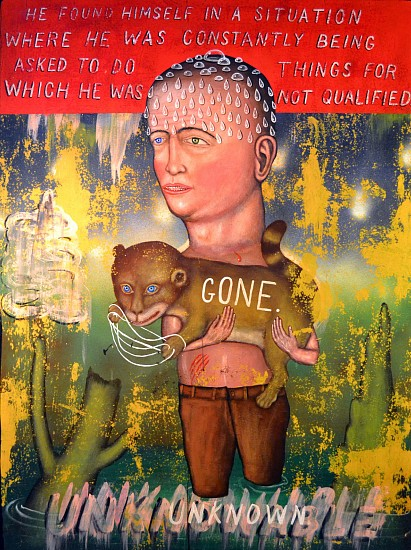 FRED STONEHOUSE, UNKNOWN acrylic on panel