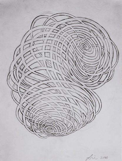 LINDA FLEMING, GOUACHE WALL DRAWING Graphite on Paper