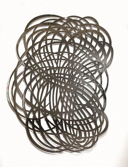 LINDA FLEMING, GOSSAMER Ed.3 chromed steel