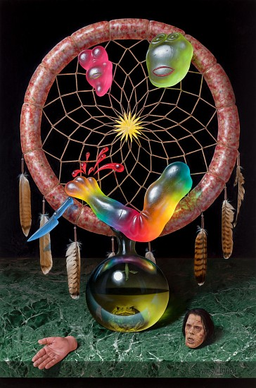 CHRISTIAN REX VAN MINNEN, AMERICAN DREAM CATCHER oil on linen