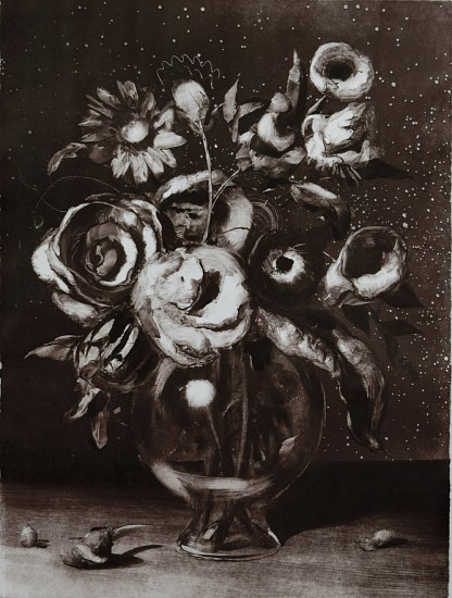CHRISTIAN REX VAN MINNEN, STILL LIFE 5 Ink on Paper (Monotype)