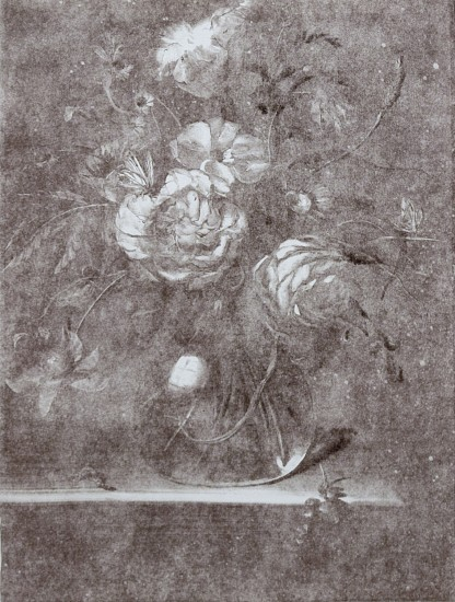CHRISTIAN REX VAN MINNEN, STILL LIFE 4 GHOST Ink on Paper (Monotype)