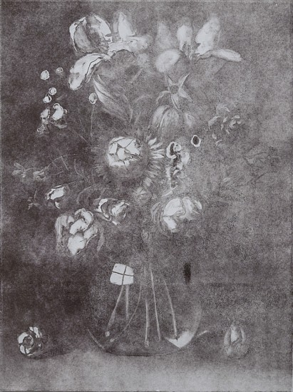 CHRISTIAN REX VAN MINNEN, STILL LIFE 2 GHOST Ink on Paper (Monotype)