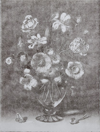 CHRISTIAN REX VAN MINNEN, STILL LIFE 1 GHOST Ink on Paper (Monotype)