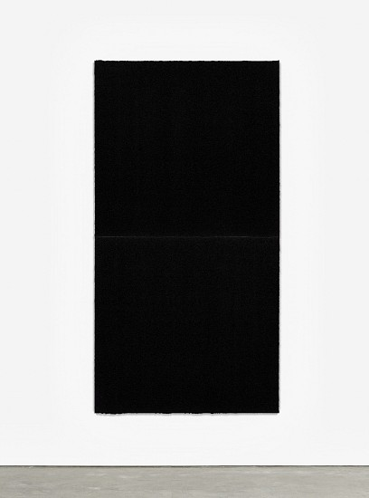 RICHARD SERRA, EQUAL VIII  Ed. 24 Paintstik and silica on two sheets of handmade paper