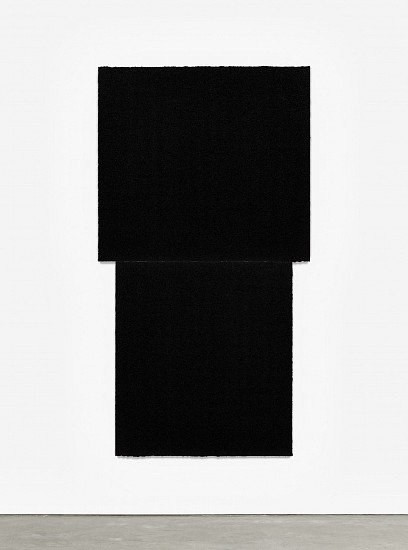 RICHARD SERRA, EQUAL I  Ed. 24 Paintstik and silica on two sheets of handmade paper