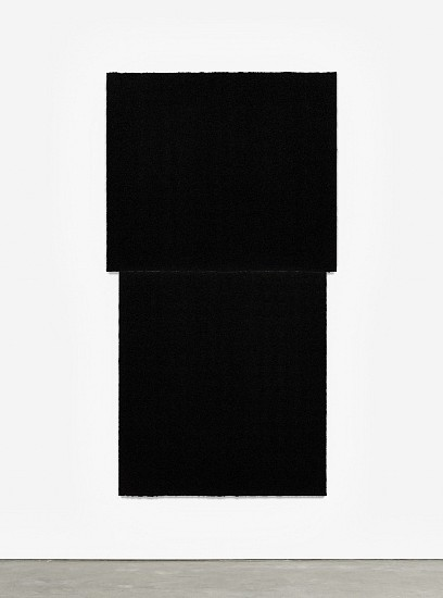 RICHARD SERRA, EQUAL III  Ed. 24 Paintstik and silica on two sheets of handmade paper