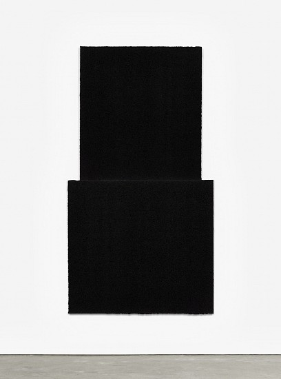 RICHARD SERRA, EQUAL II Ed. 24 Paintstik and silica on two sheets of handmade paper