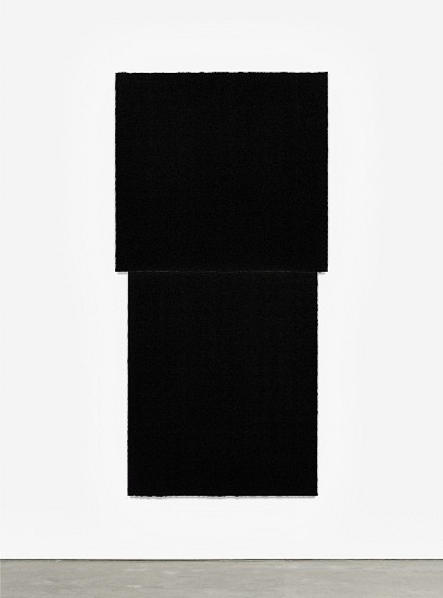 RICHARD SERRA, EQUAL IV  Ed. 24 Paintstik and silica on two sheets of handmade paper