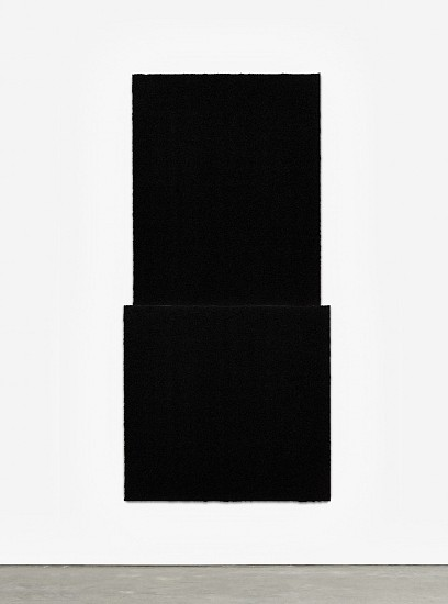 RICHARD SERRA, EQUAL VI  Ed. 24 Paintstik and silica on two sheets of handmade paper