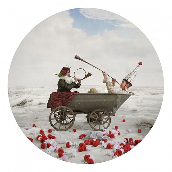 KAHN + SELESNICK, TWO FOOL CART Ed. 5 archival pigment print
