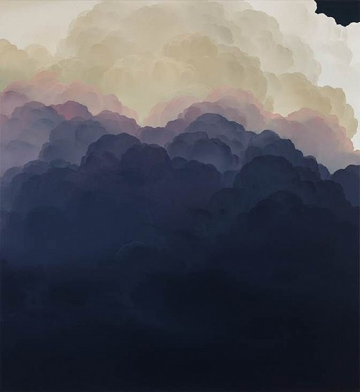 IAN FISHER, ATMOSPHERE NO. 93 (SOLD) oil on canvas